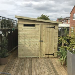 Shiplap Tongue and Groove Shed
