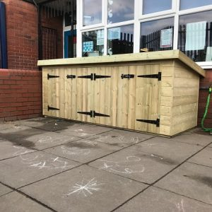 Playground Storage Unit